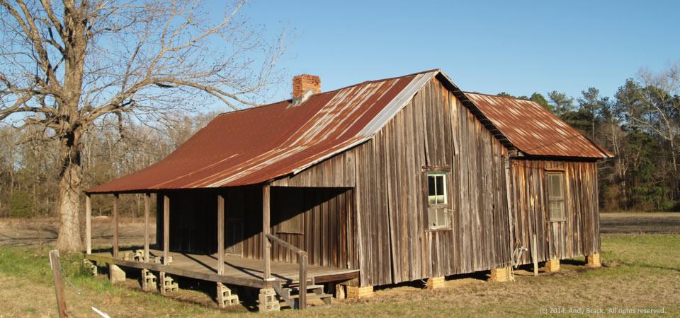 Old Farmhouse Near Dexter Ga Building A Better South