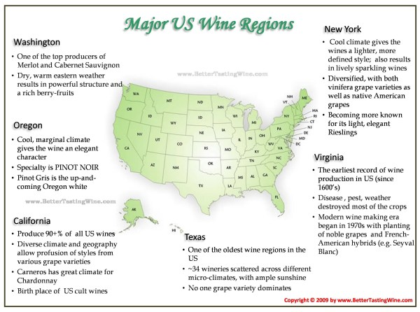 BetterTastingWine Wine Maps