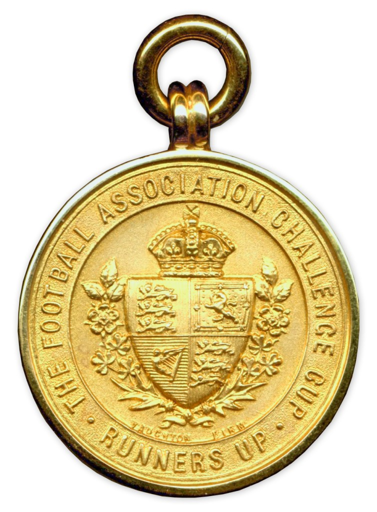FA Cup Runners Up Medal