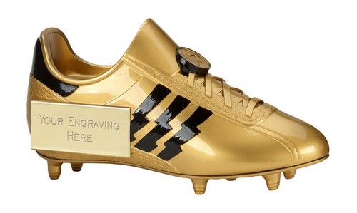 Tower Trophies Golden Boot Trophy