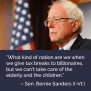 Better World Quotes Bernie Sanders On Tax Reform