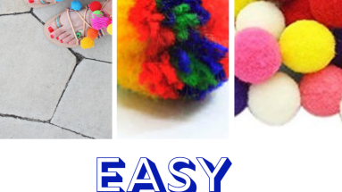 Easy Pom Pom Crafts