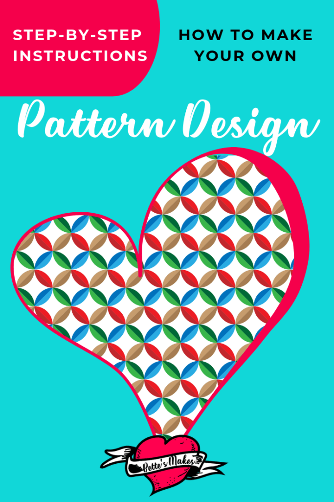 Pattern Design can be very easy when you know how to use simple shapes to make amazing designs. At bettesmakes.com we will show you some fabulouus ideas on how to create your own designs with ease.