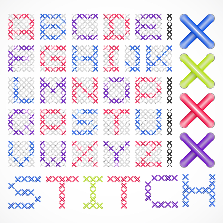 Drawing Out a Cross Stitch Pattern