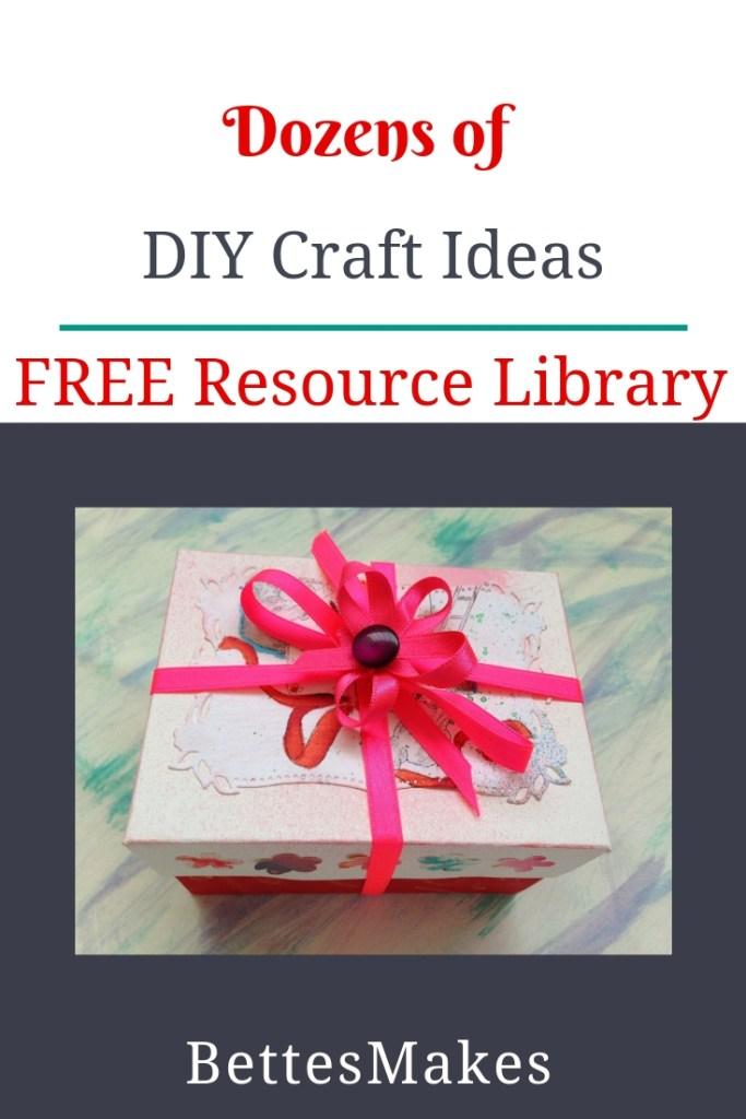 Dozens of DIY Craft Ideas