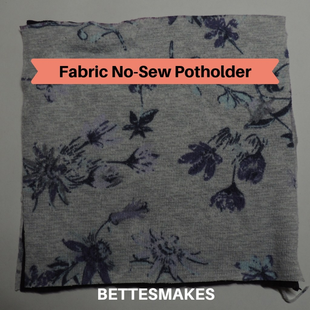 Fabric - No-Sew Potholder
