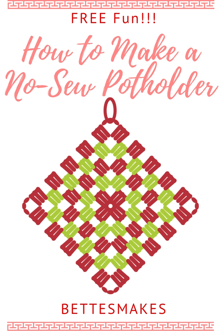 How to Make No-Sew Potholders