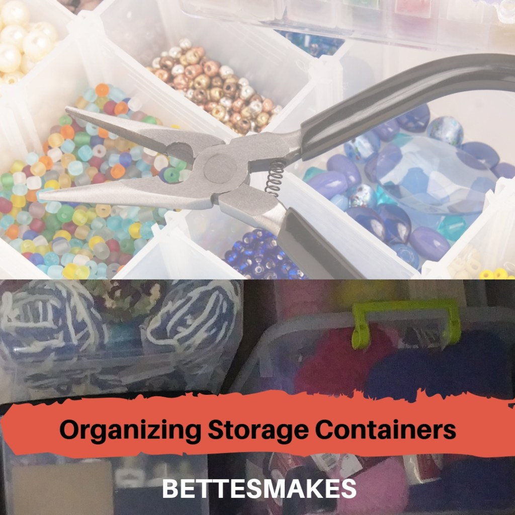 Organizing With Storage Containers