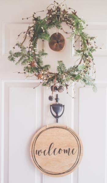 Welcome Front Door Ornament