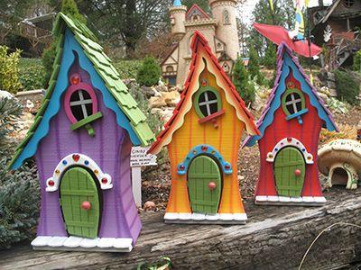 Whimsical Fairy Garden - Pinterest