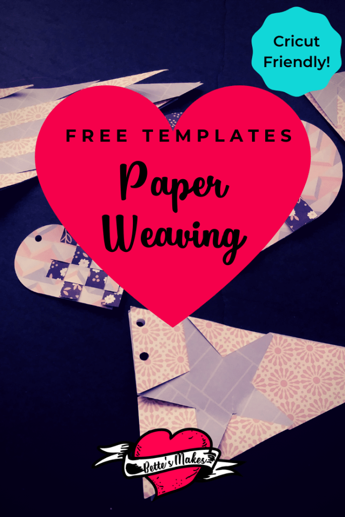Paper Weaving Banners are so easy to make! Perfect for special occasions - use your Cricut to cut the pieces - cuts line up perfectly this way! #cricut #cricutproject #cricutcraft #papercraft #paperweaving