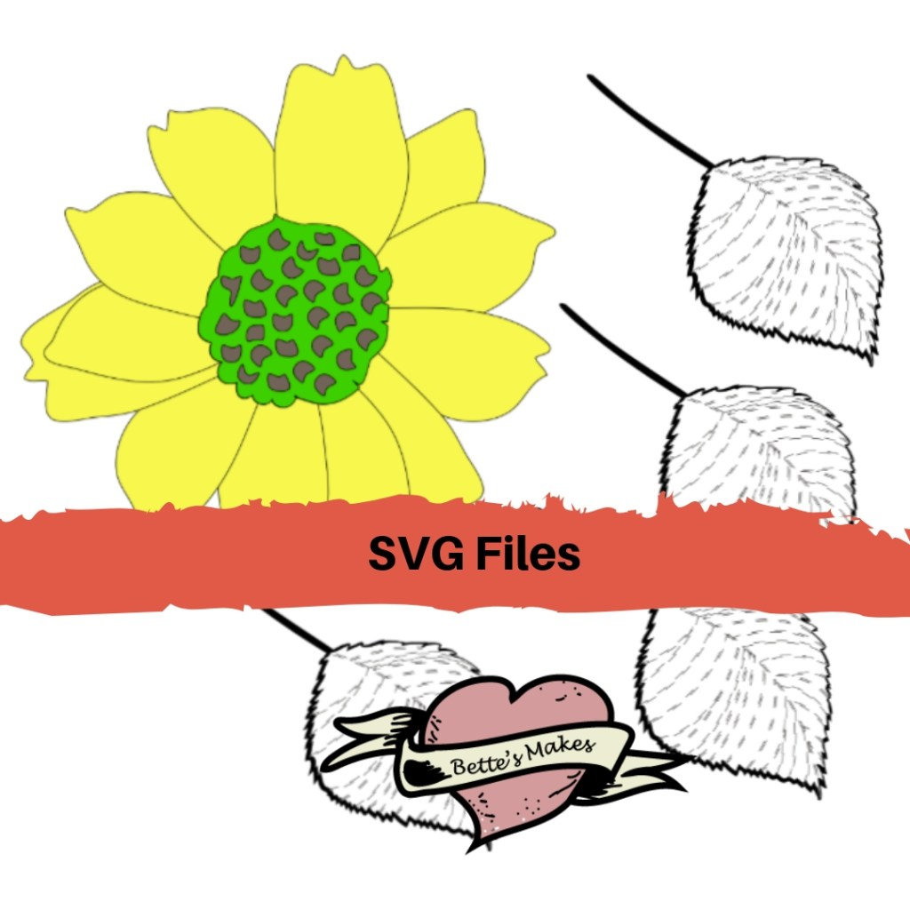 SVG Cut Files for DIY Paper Flower