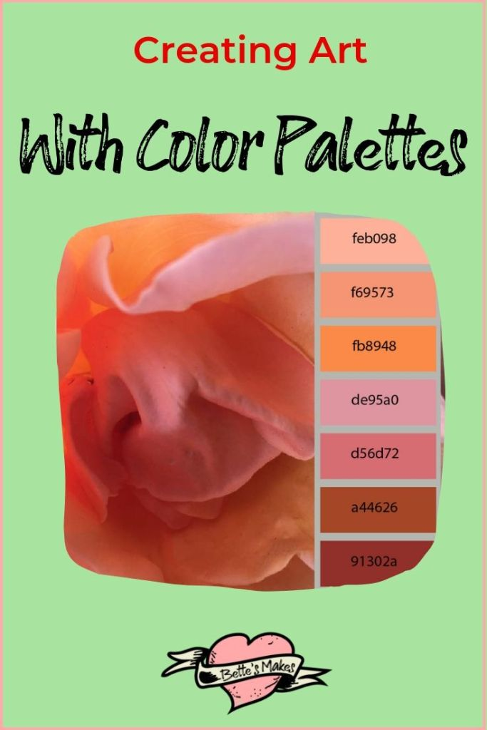 Color palettes - BettesMakes.com
