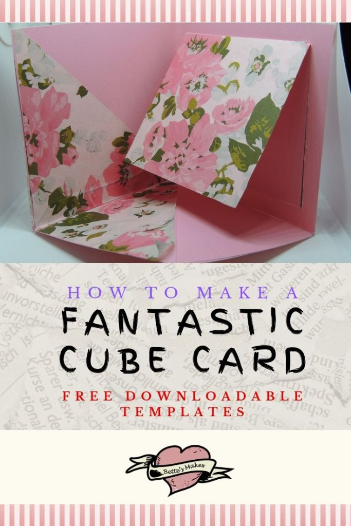 Handmade Cards: Making a Cube Card with Ease - BettesMakes.com
