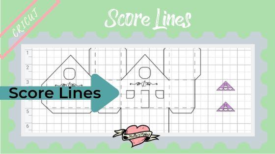 Paper Houses - Score Lines - BettesMakes.com