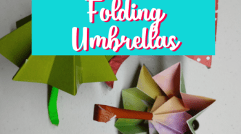 How to Make Folding Umbrellas using your Cricut Machine! This project is complex, yet simple and a whole lot of fun to make. Great for parties or for your DiY Home Decor. #Cricut #cricutprojects #papercraft #craft