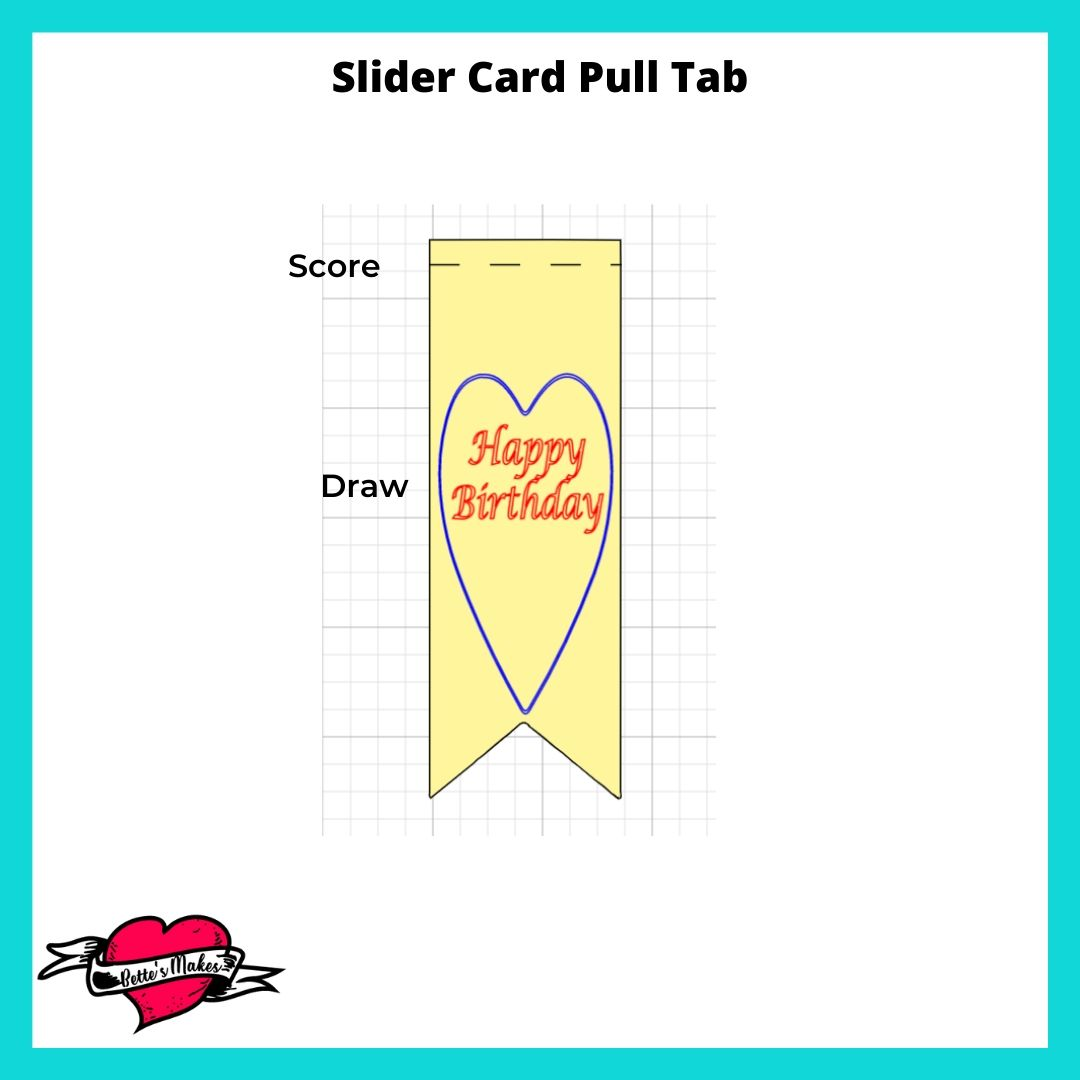 Slider Card Pull Tab