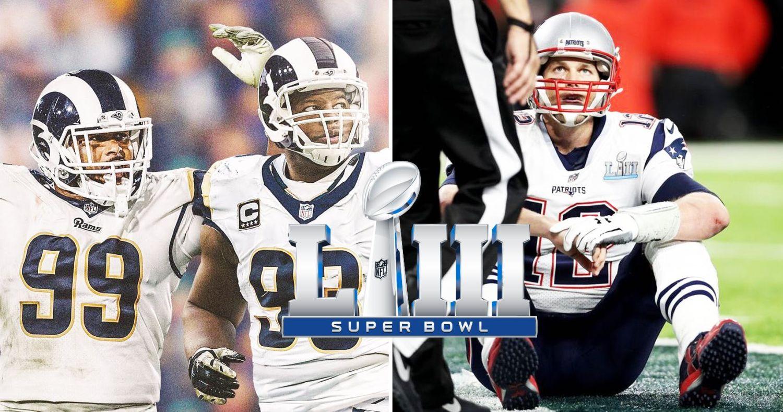 343dfd78a18 Super Bowl 53 Printable Props Contest Sheet PDF – Rams vs Patriots