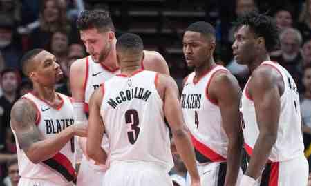 Portland Trail Blazers v Minnesota Timberwolves - NBA