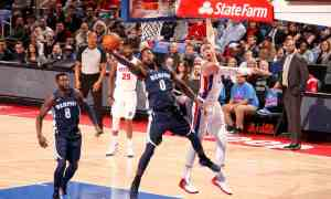 Memphis Grizzlies v Detroit Pistons - NBA