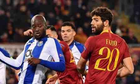 Porto vs AS Roma - Champions League