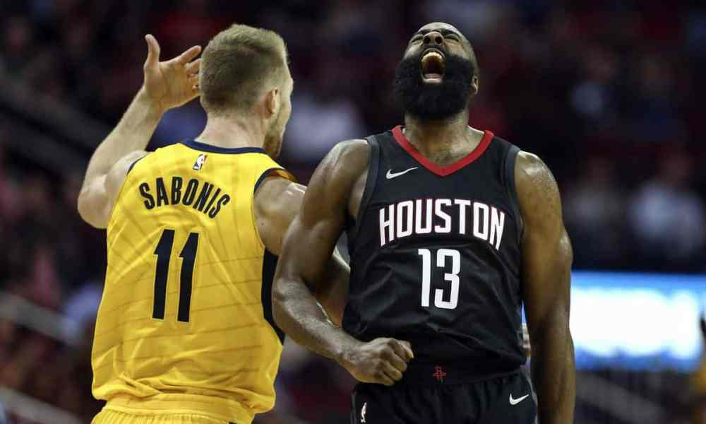 Indiana Pacers vs Houston Rockets - NBA