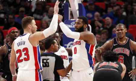 Detroit Pistons v Utah Jazz - NBA