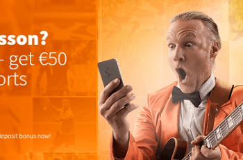 BETSSON BONUS – Deposit €25 Get €50 to Bet On Sports