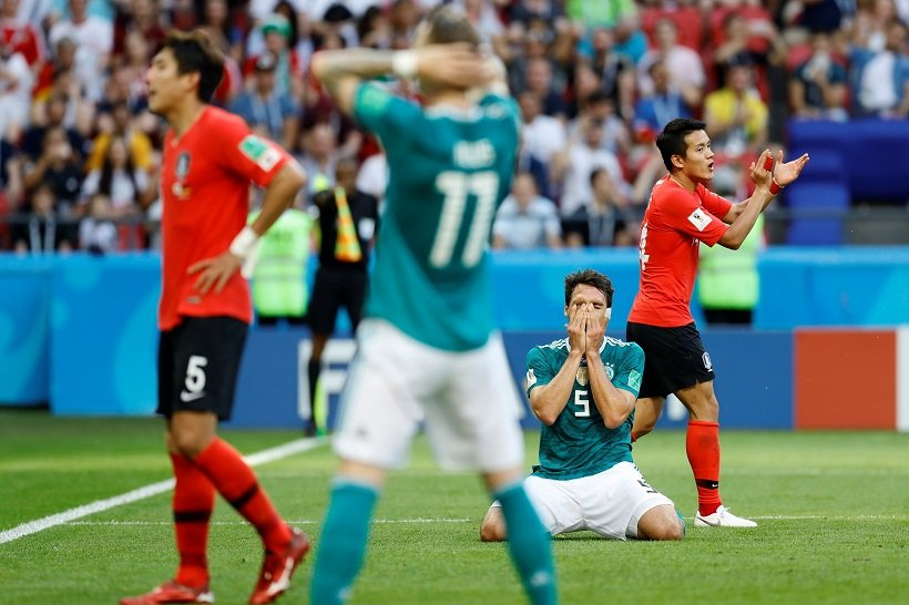 Germany knocked out at the 2018 World Cup