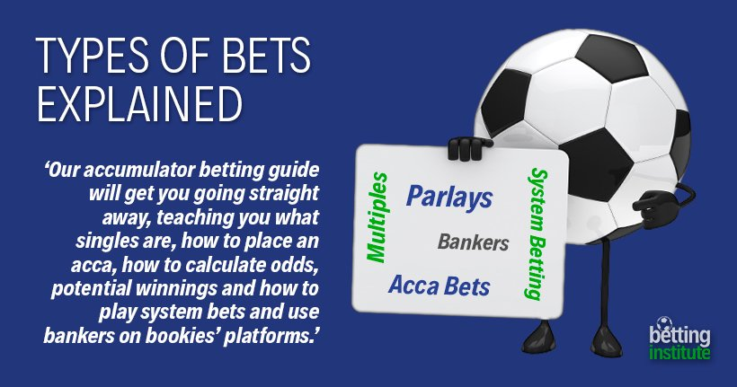 Types of Bets Explained