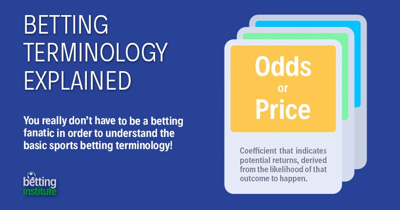 Betting Terminology Explained
