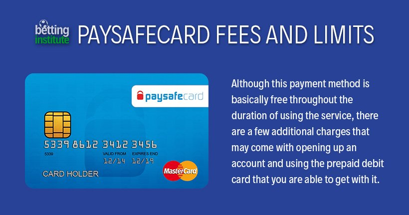 Paysafecard Fees And Limits