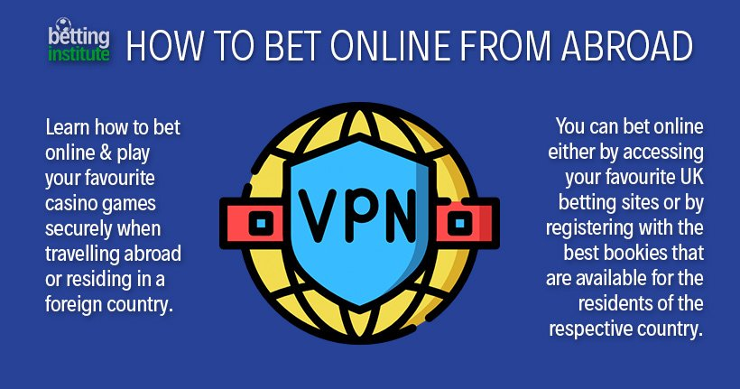 How To Bet Online From Abroad