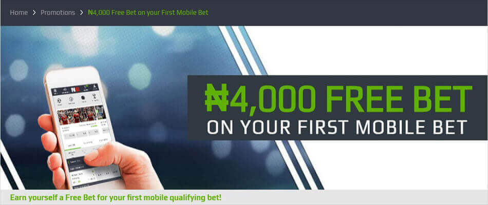 NetBet 4,000 Naira Free Bet on your First Mobile Bet