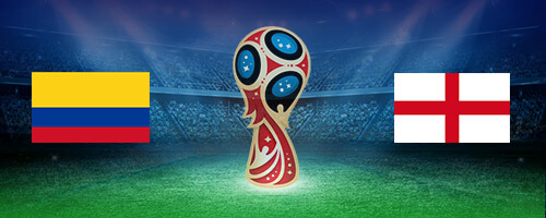 World Cup: Colombia vs England