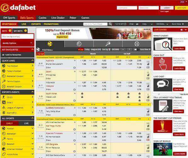 Dafabet Sportsbook Review Video - image 5