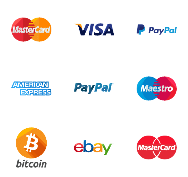 Various payment methods