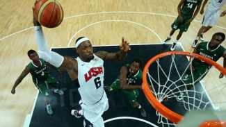 Olympic basketball NBA for content