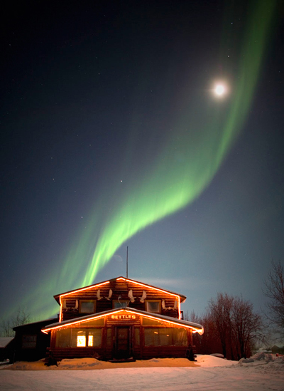 Bettles Amp Aurora Viewing Lodge Cabin Rentals Arctic