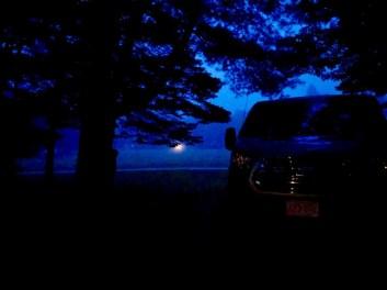 Blue mist