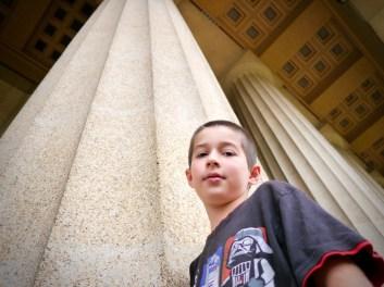 Ben at the Pantheon