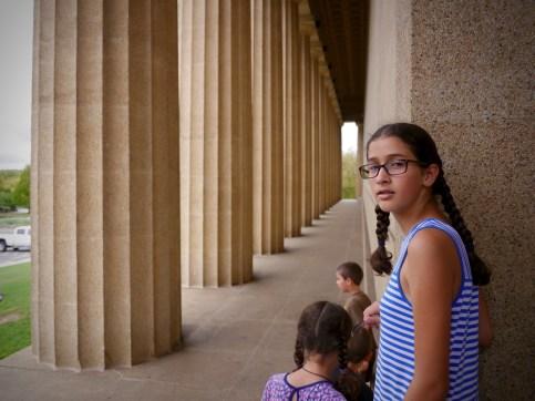 Bella at the Pantheon