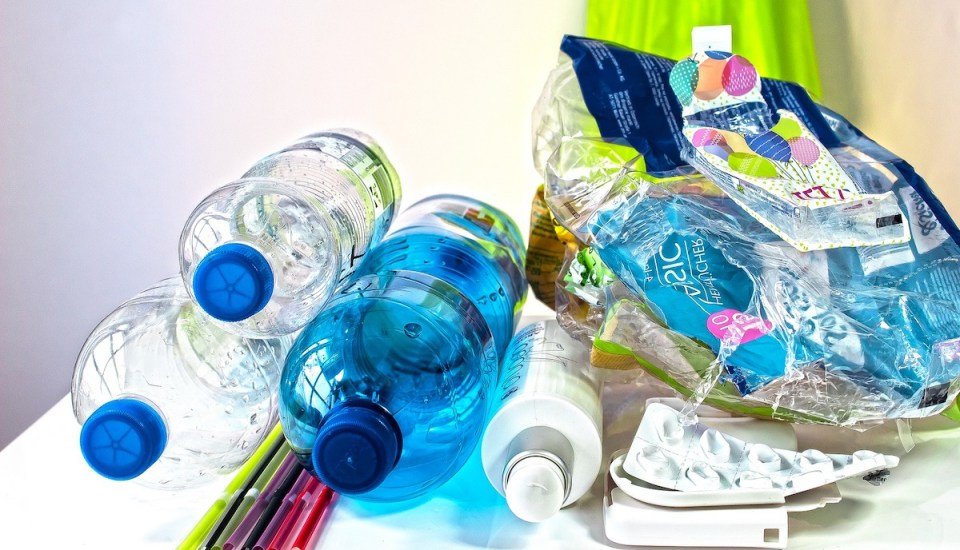 Plastic bottles and recycling