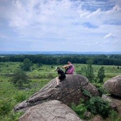 Overlooking the Valley of Death from Little Round Top