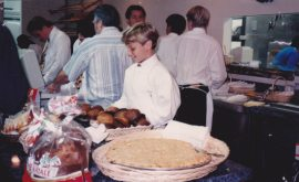 Vince at age 12 Working at Gaetano's.