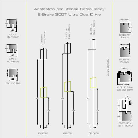 Adattatori per utensili 300T dual drive ultra