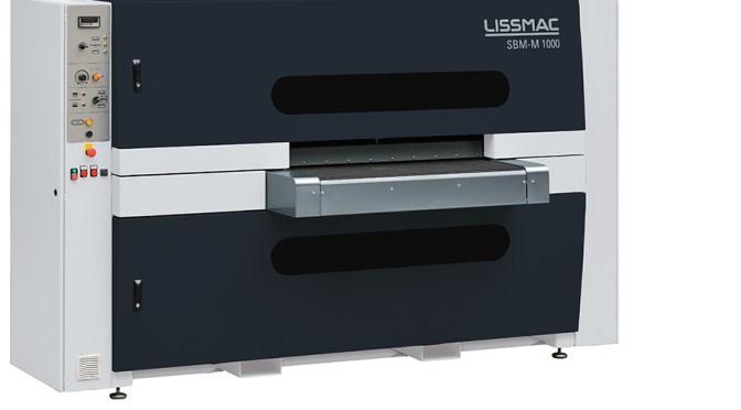 Lissmac SBM-M 1000 macchina satinatrice