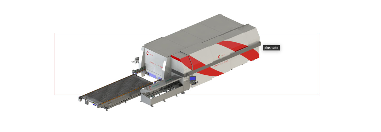 Taglio laser tubi PLUS TUBE in vendita da Betto Macchine srl