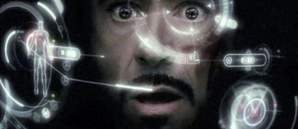 Tony Stark interface