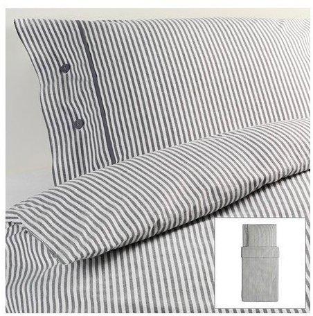 Hbsche Bettwsche  wei 155x200 von Ikea  Bettwsche